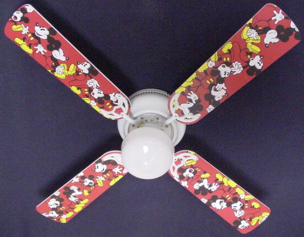 """Disney Mickey Mouse #1 Ceiling Fan 42"""" 1"""
