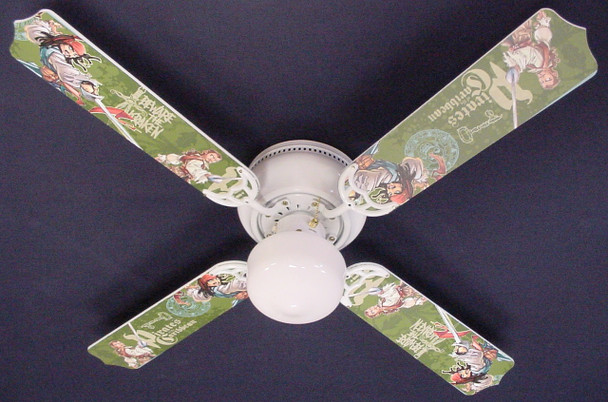 """Pirates Of Caribbean 3 Jack Sparrow Ceiling Fan 42"""" 1"""
