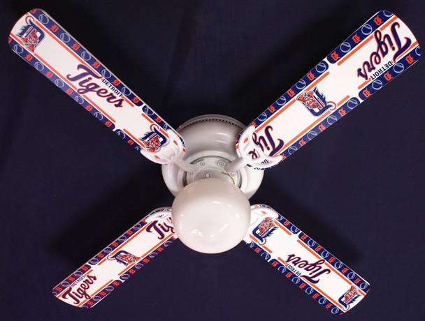 "MLB Detroit Tigers Baseball Ceiling Fan 42"""