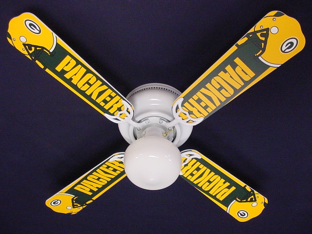 NFL Green Bay Packers Football Ceiling Fan 42""