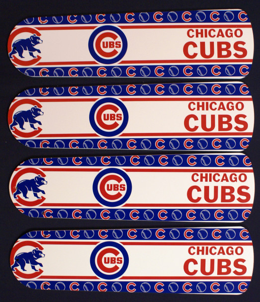 """MLB Chicago Cubs Baseball Ceiling Fan 42"""" Blades Only 1"""