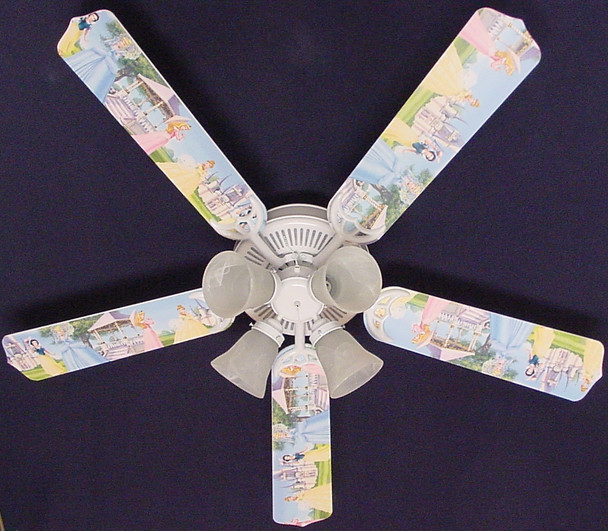"Disney Princesses - Castle Ceiling Fan 52"" 1"