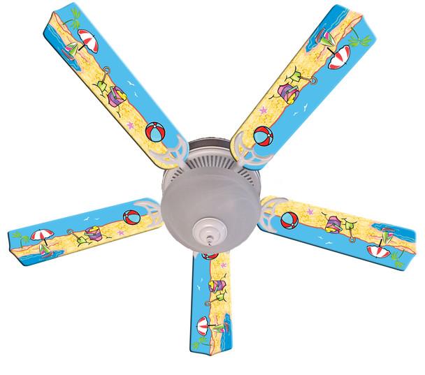 """Fun In The Sun Ceiling Fan 52"""" 1"""