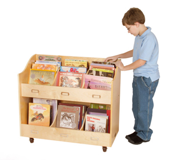 Guidecraft Mobile Book Organizer 2