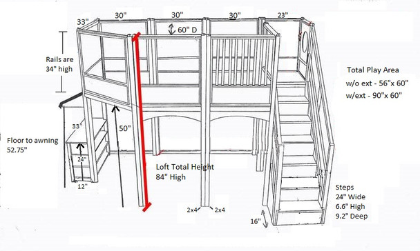 Market Loft Measurements