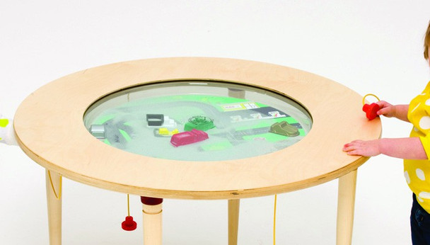 Car Truck Round Magnetic Sand Table