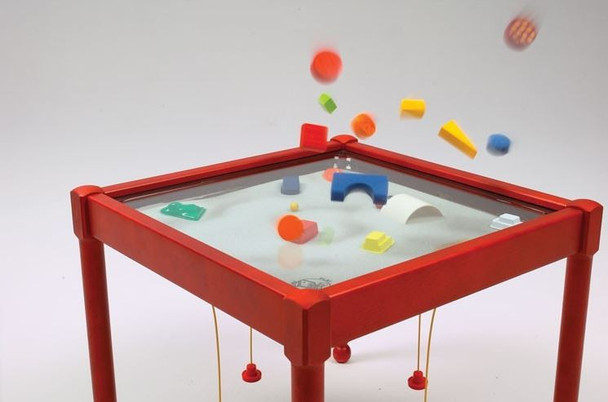 Children's Furniture Company Car Truck Round Magnetic Sand Table