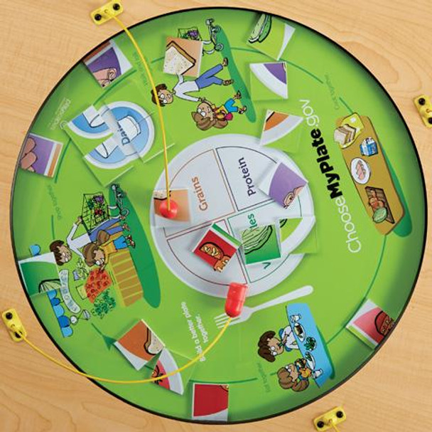 My Plate Kids Magnetic Play Table Top