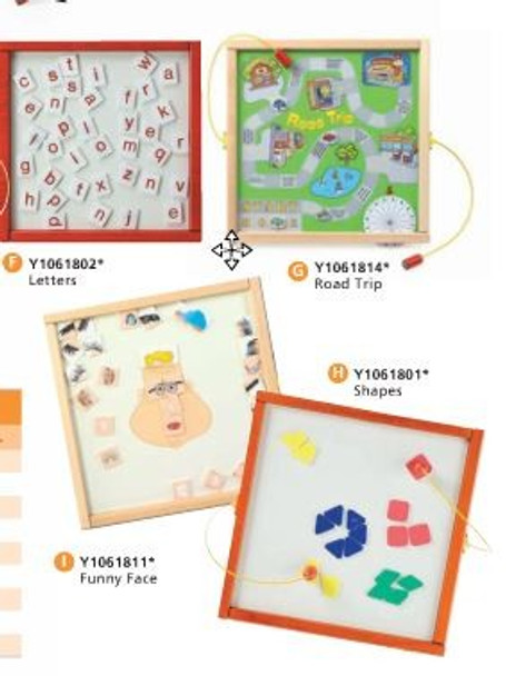 Children's Furniture Company Funny Face Magnetic Wall Game