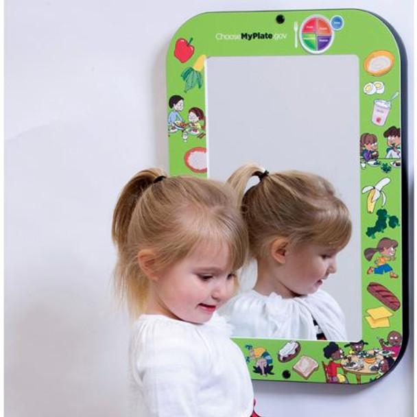 MyPlate Wall Mirror