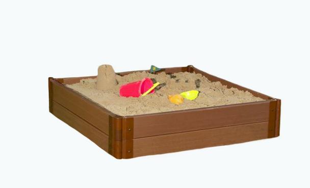 "4' x 4' x 11"" Square Sandbox Kit 3"