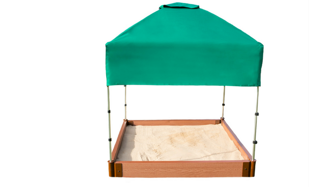 Telescoping Square Sandbox Canopy & Cover 2