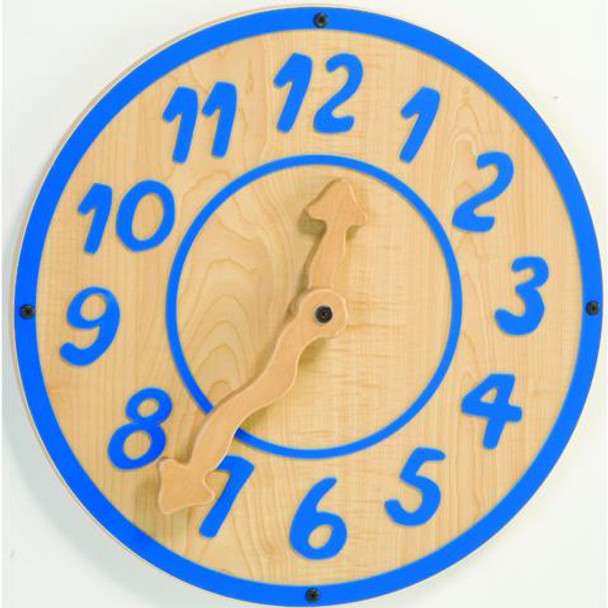 Giant Blue Clock Wall Toy