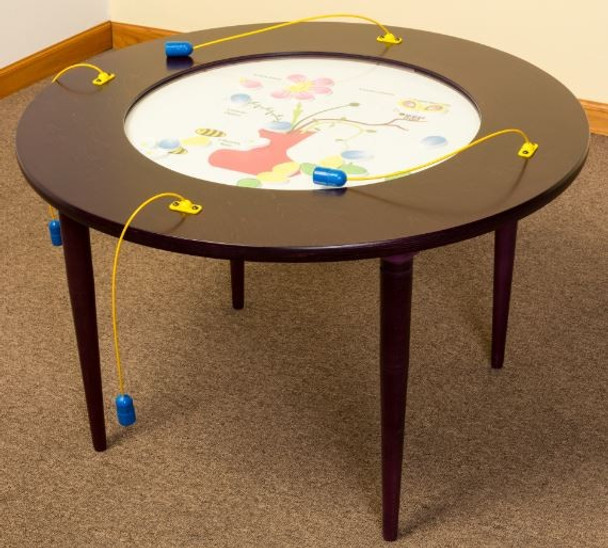 Bees & Flowers Round Activity Table 1