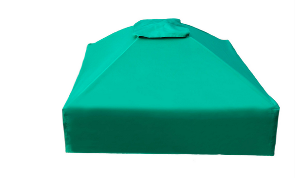 Collapsible Sandbox Cover Square 4ft x 4ft 3