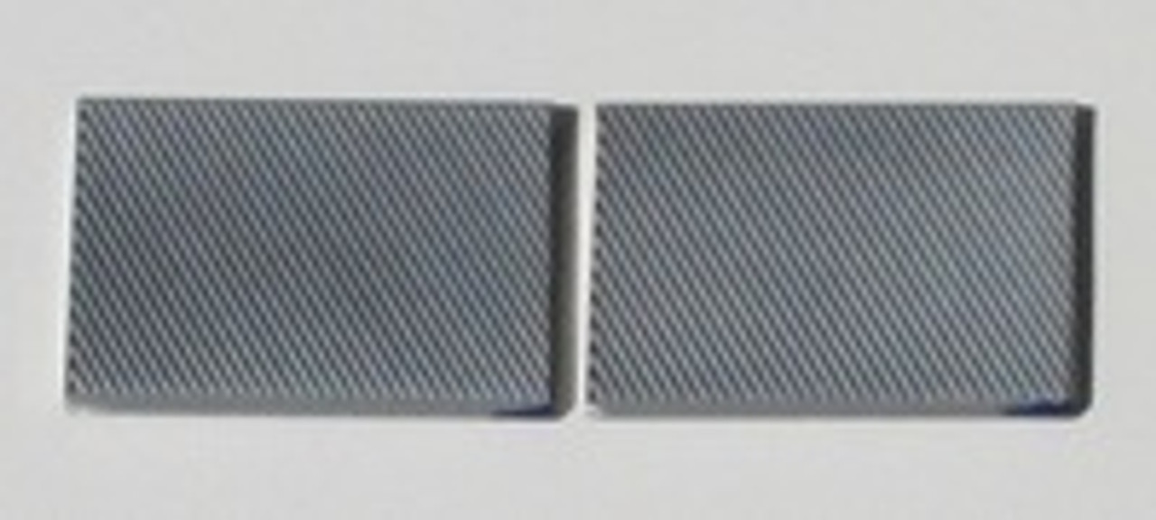 Laser Cut Hard Chromed Files - pair (included with Ski Sharp)