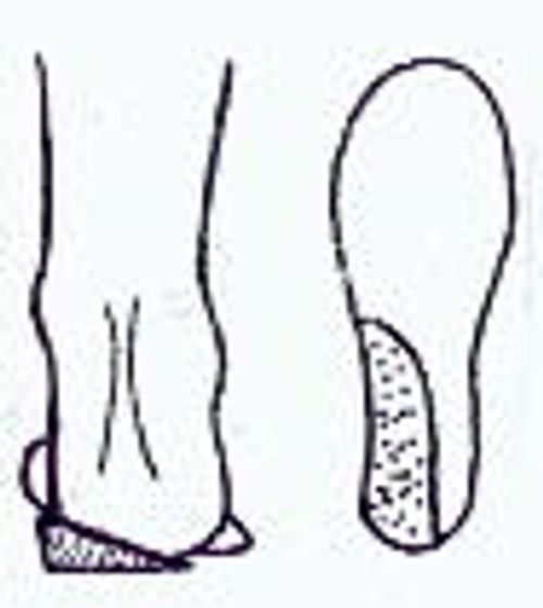Boot Fitting Heel Wedges (pair)