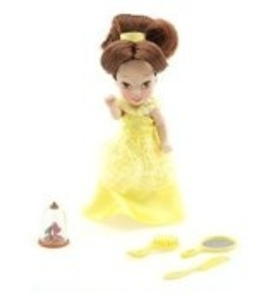 Disney Belle 4'' Little Princess Doll Play Set (TOY)