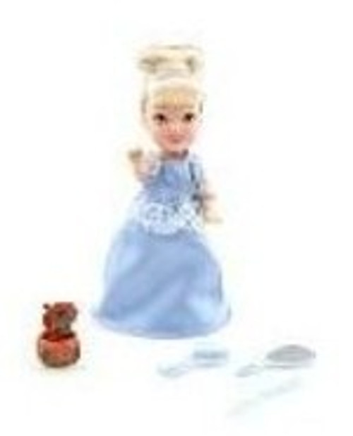 Cinderella 4'' Little Princess Doll Play Set (TOY)