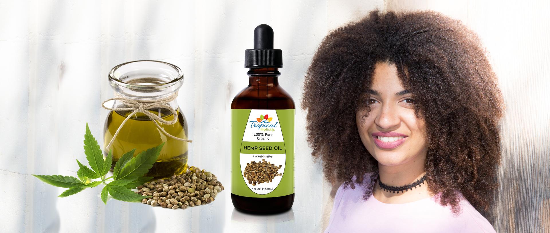 Tropical Holistic 100% Pure Organic Hemp Seed Oil