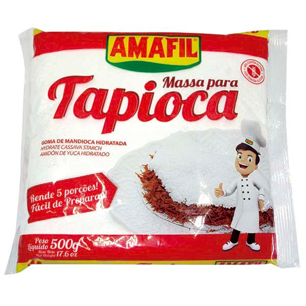 Massa para Tapioca Amafil - 500g