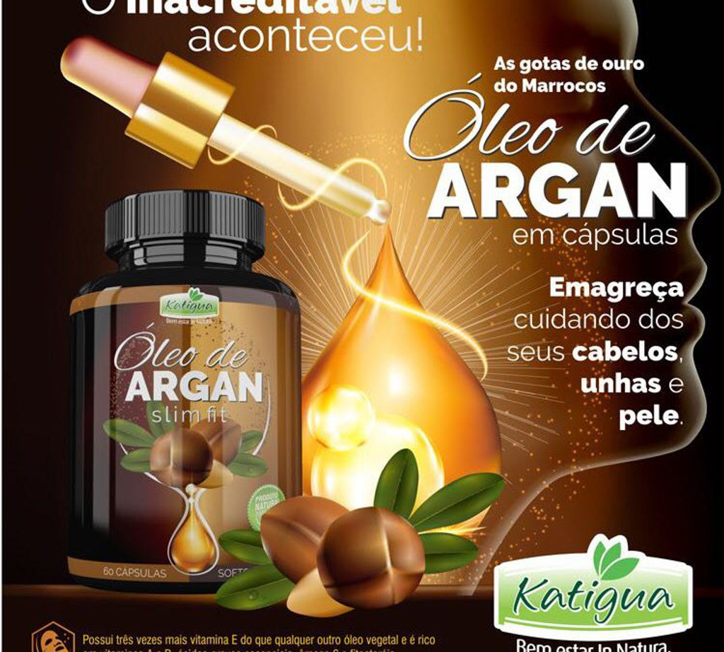 Argan Oil Slim Fit 60 Softgel
