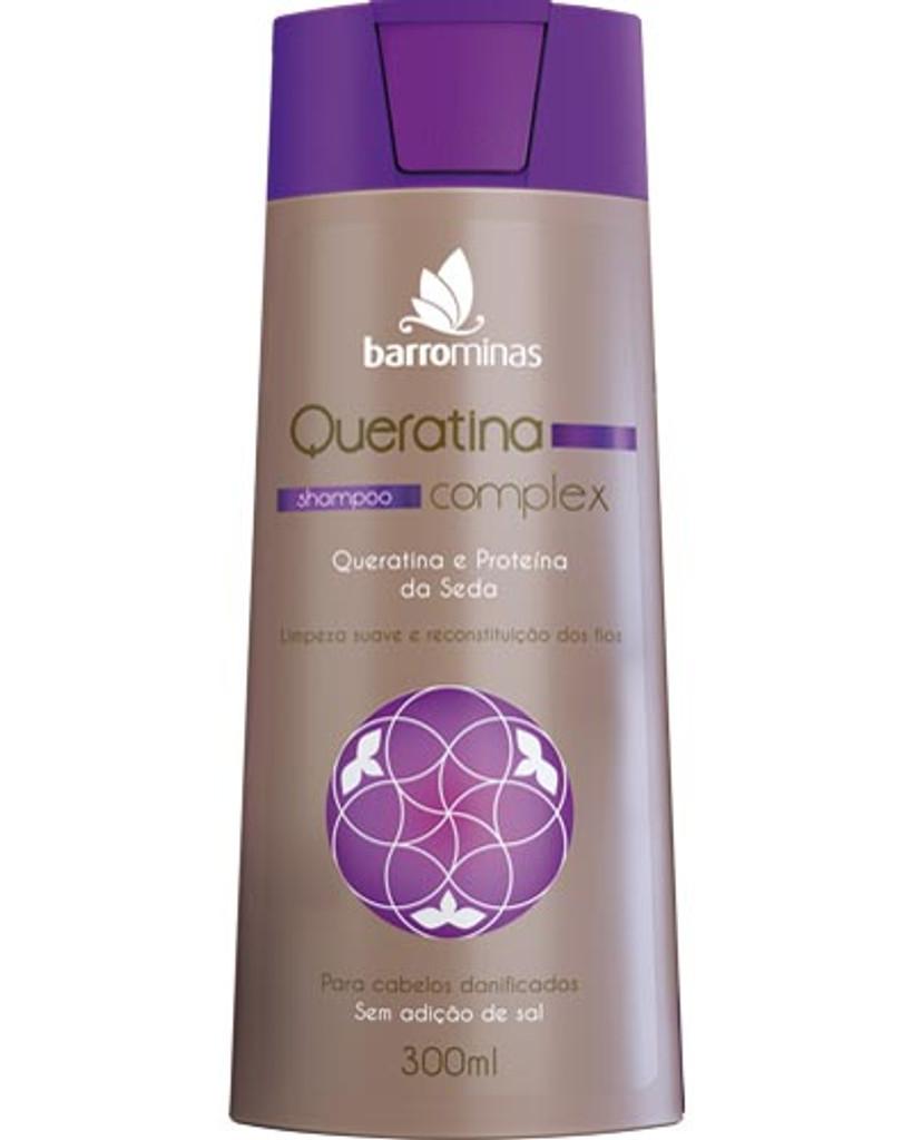 Queratina Complex Shampoo - Barro Minas 300ml