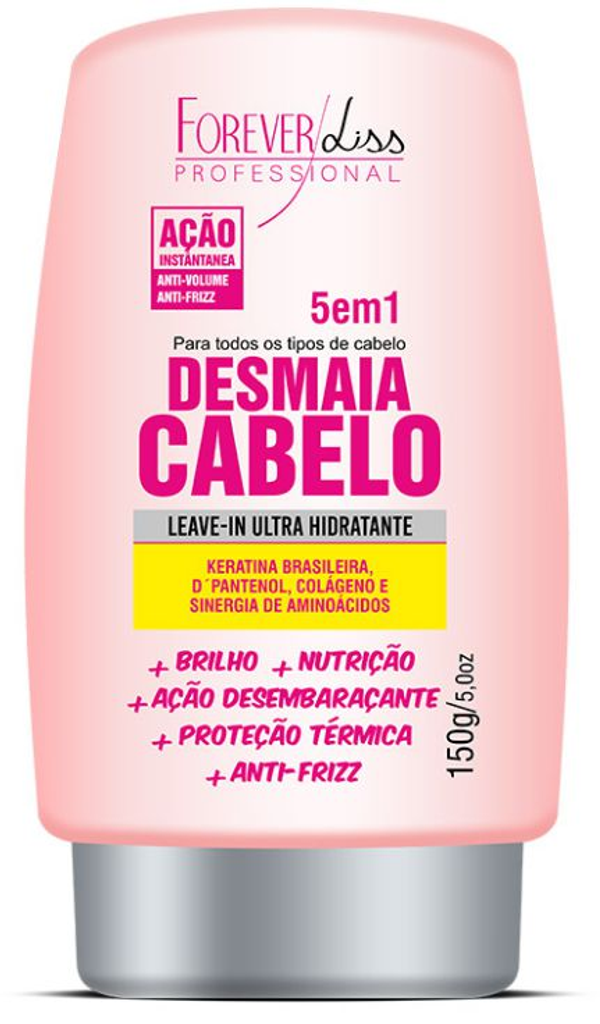 Leave-in Desmaia Cabelo 5 em 1 Forever Liss 140g