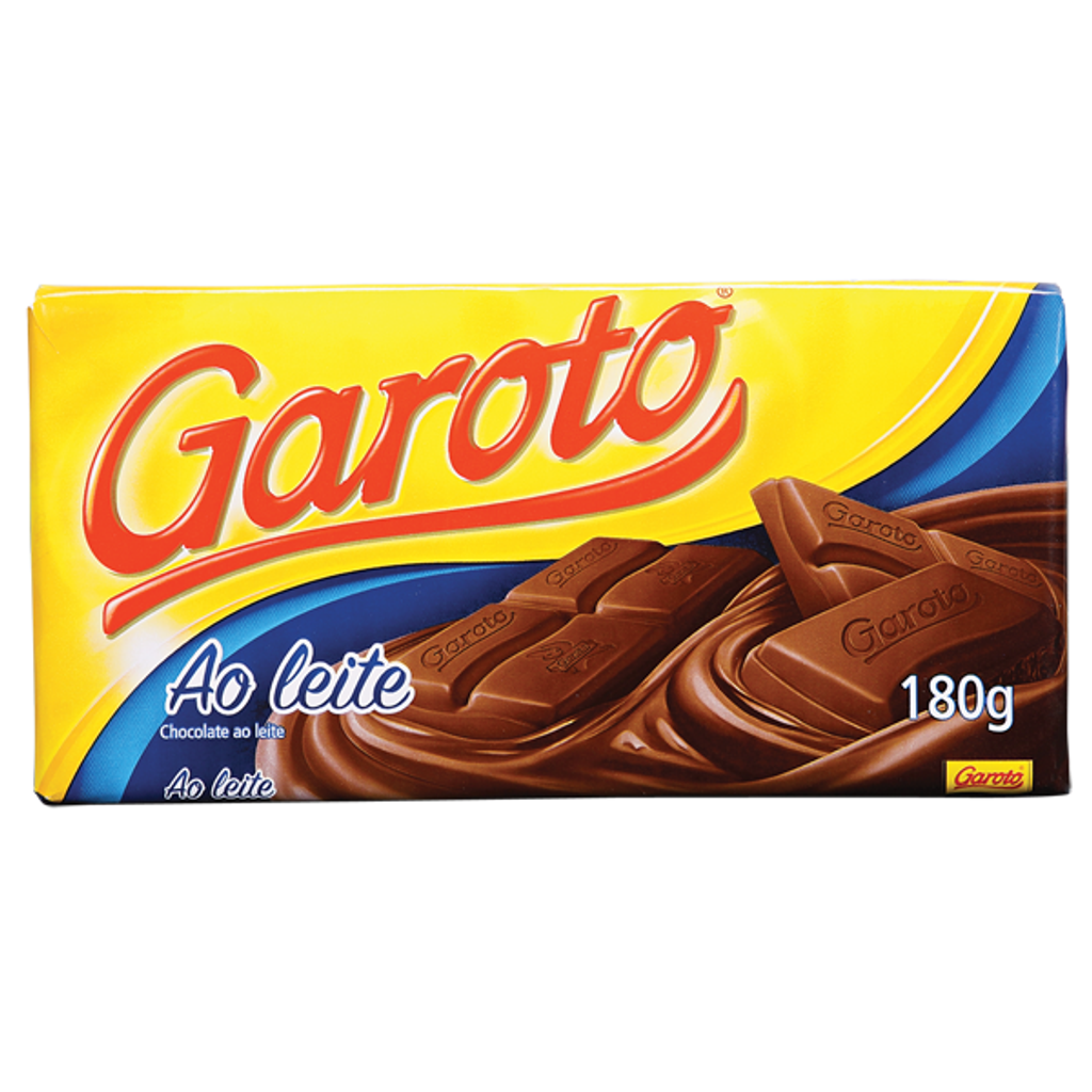 Milk Chocolate Bar - Garoto 180g
