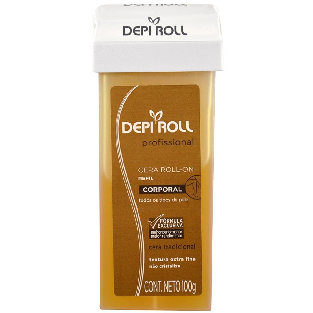 Depi Roll Profissional -  Hot Depilatory Wax - 100g