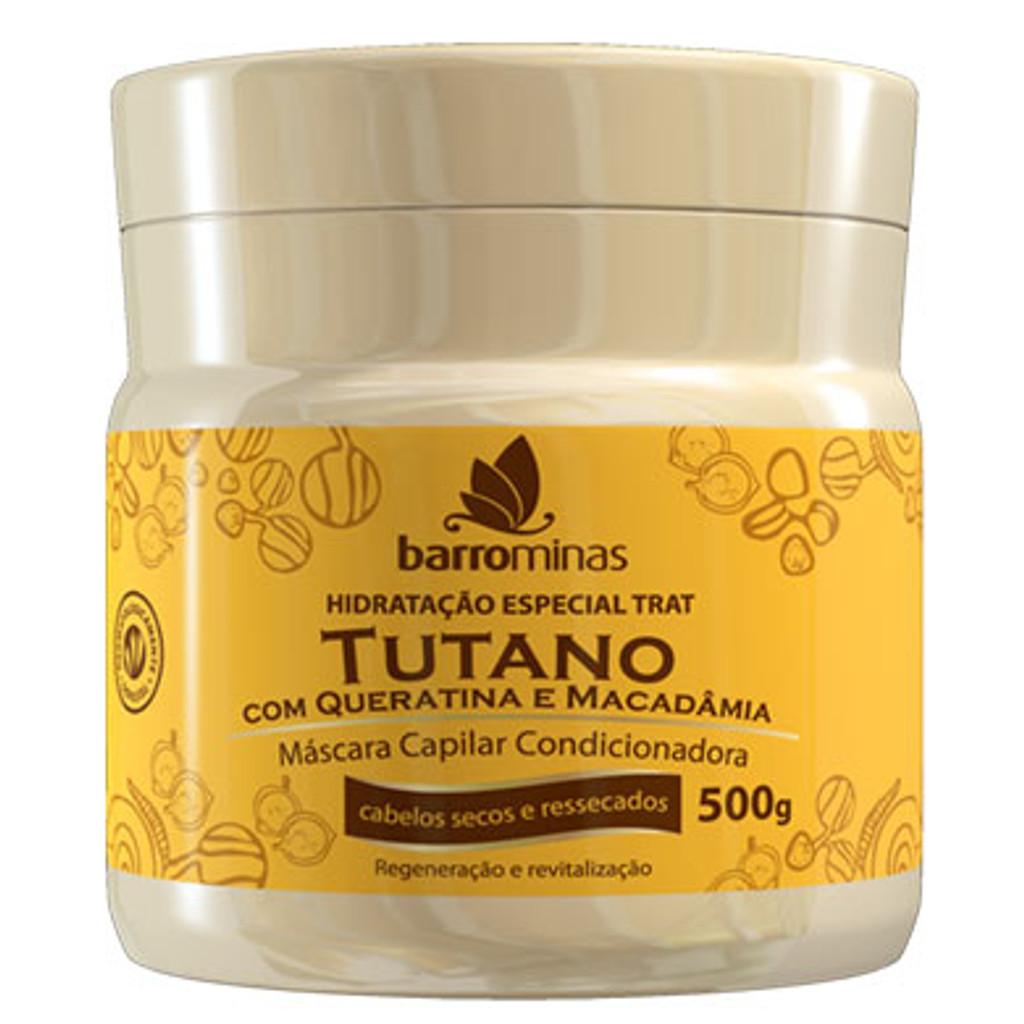 Tutano, Queratina e Macadamia Creme de Hidratacao - 500g
