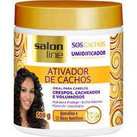 Salon Line Ativador De Cachos S.O.S. 500gr