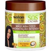Salon Line Máscara de coco Hidratação intensa 500g