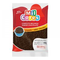 Confeito Miçanga Sabor Chocolate 500gr MAVALÉRIO
