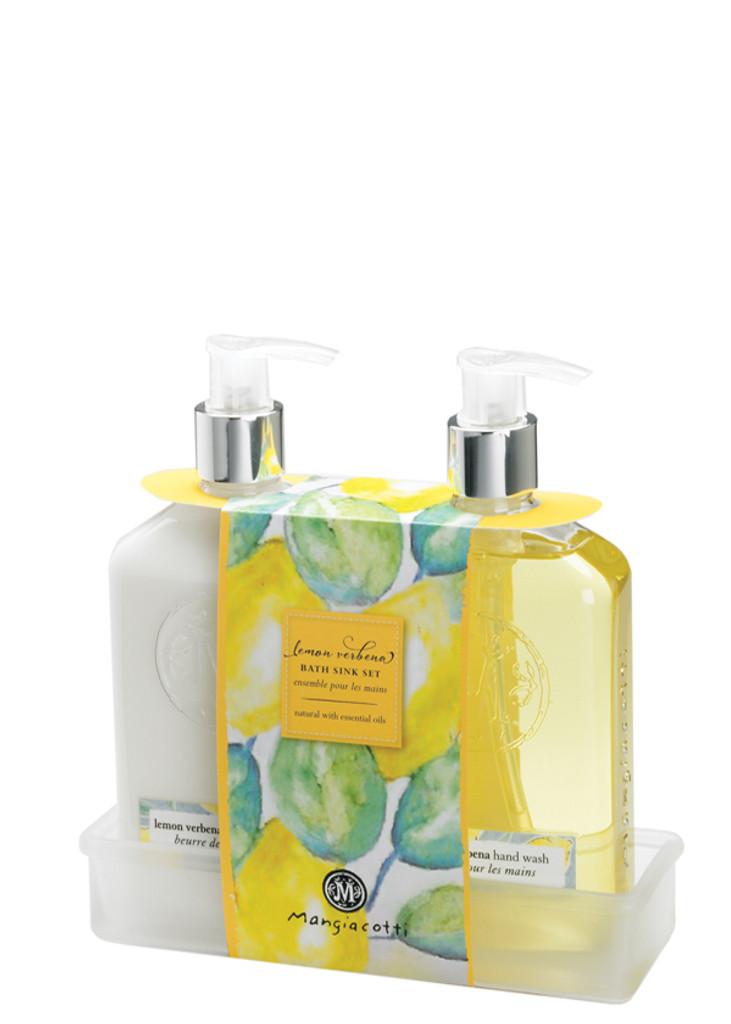 Lemon Verbena Bath Sink Set