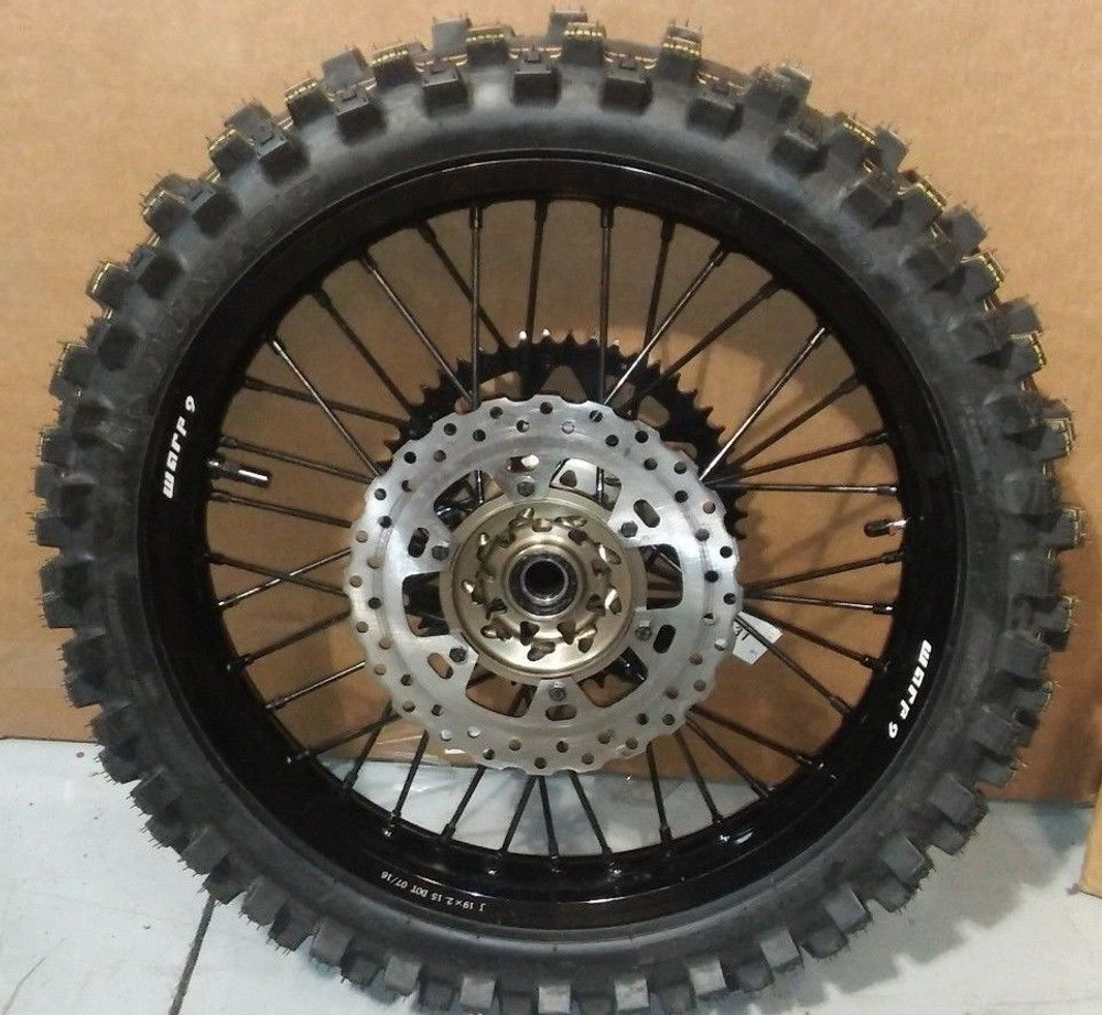 "Warp 9 Wheels with D.O.T Dual Sport Tires (21"" Front / 18"" Rear)"
