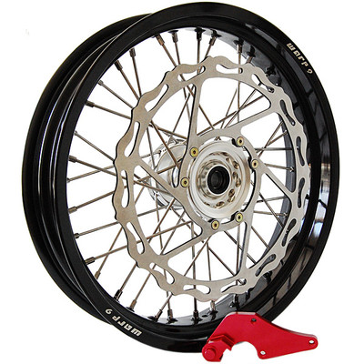 Warp 9 KLR650 Supermoto Wheel Set