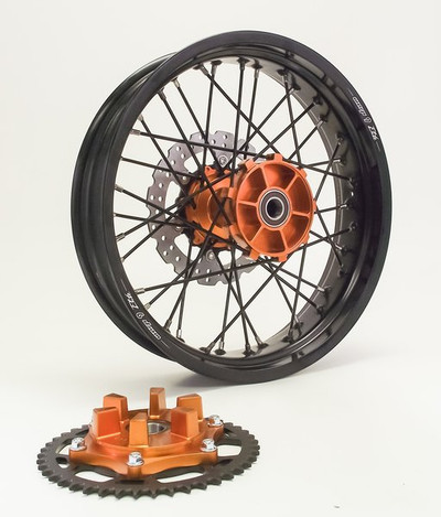 Warp 9 KTM 690 Enduro Rear Supermoto Wheel