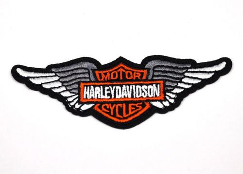 Harley silver angel wings