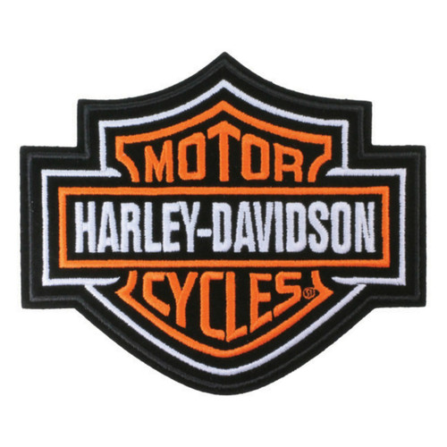 Harley Davidson Embroidered Motorcycle Patch