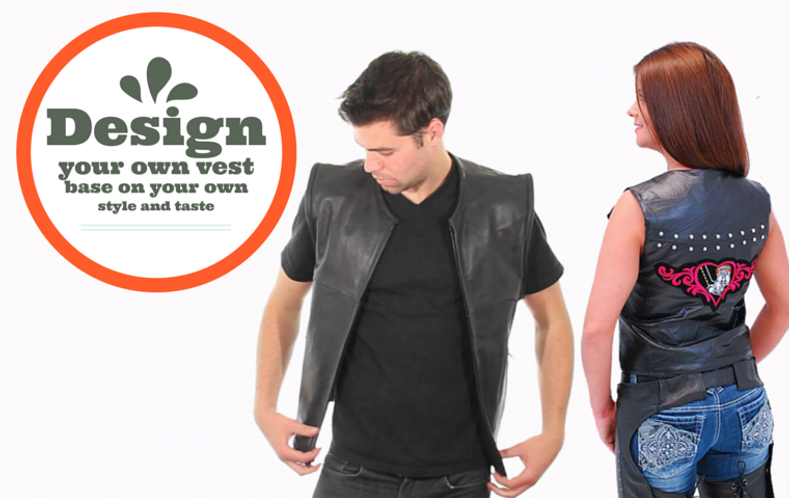 Here's How to Accessorise Your Motorcycle Vest