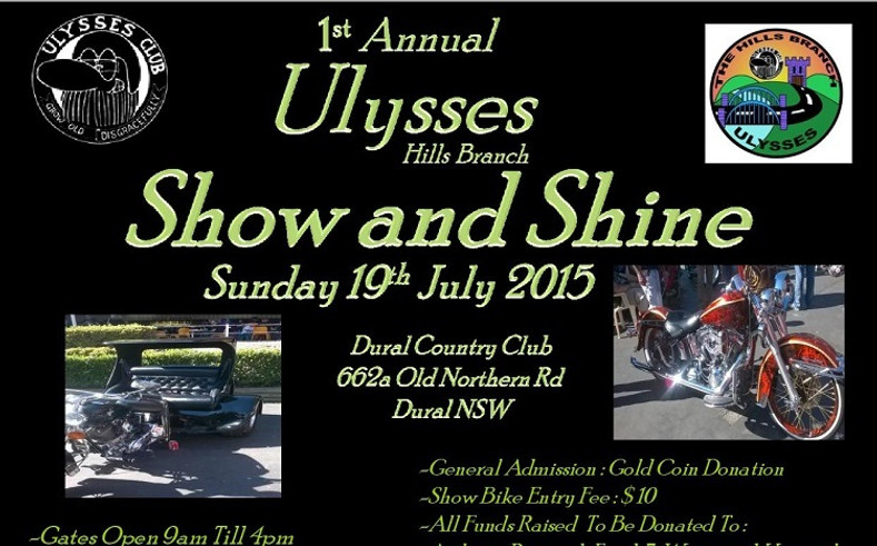 RhinoLeather Supports Ulysses Club's Show and Shine 2015