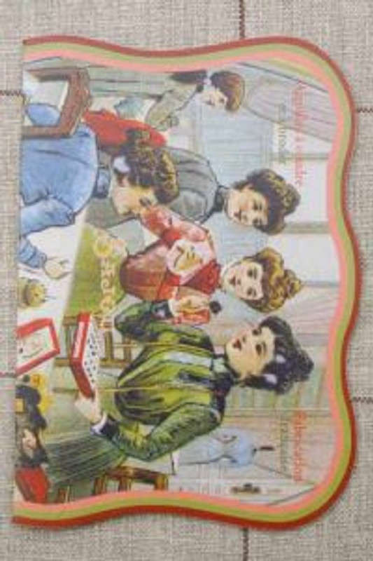 Vintage Needle Folding Card - Sewing Club
