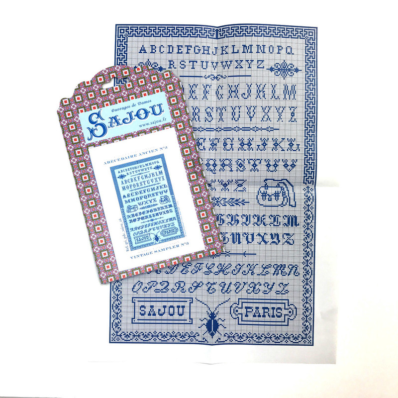 Cross Stitch Pattern - Vintage Sampler 3