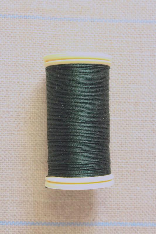 Silk Thread Spool - Bottle Green