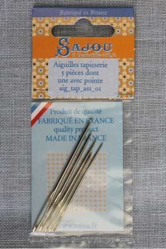 Tapestry Needles - Set of 5