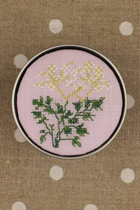 Sajou Cross Stitch Kit - Parsley - Box to Embroider