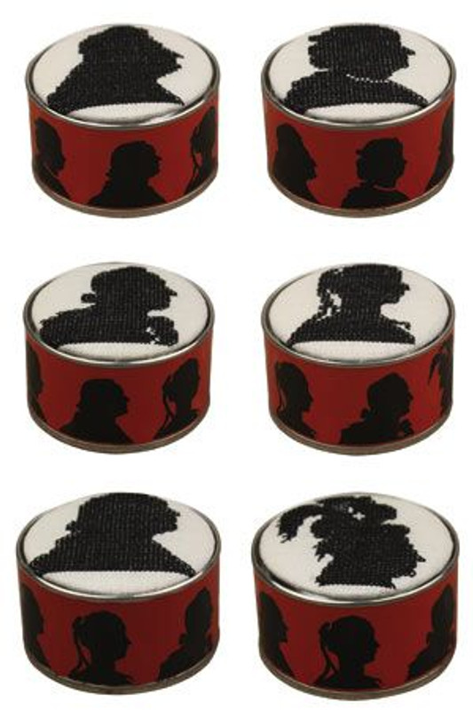 Sajou Box to Embroider - Silhouettes from Versailles