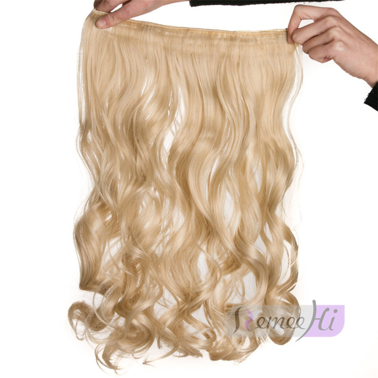 Remeehi Wave One Piece 25cm 120g Straight Clip In Hair Extension For
