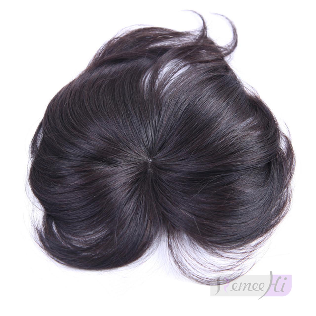 Remeehi Gorgeous Real Human Hair Flat Bangsfringe Hand Tied Bangs